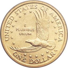 2006 D $1 MS reverse