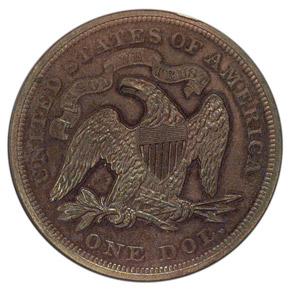 1873 J-1274 S$1 PF reverse