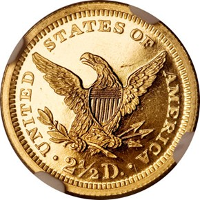 1869 $2.5 PF reverse