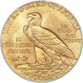 1927 $2.5 MS reverse