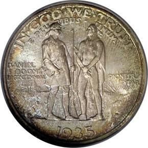 1935 D BOONE 50C MS reverse