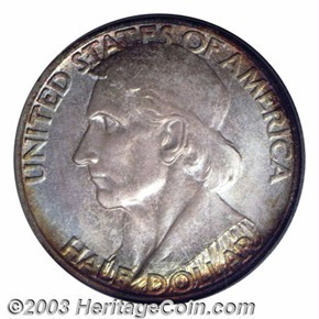 1935/1934 S BOONE 50C MS obverse