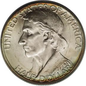 1938 D BOONE 50C MS obverse