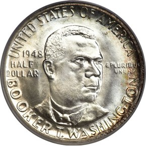 1948 B.T. WASHINGTON 50C MS obverse