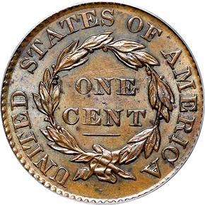 1828 1C MS reverse