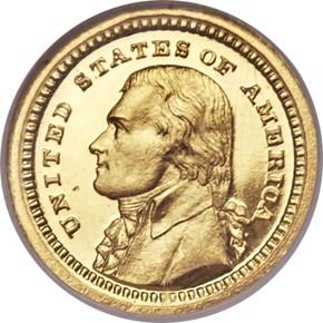 1903 JEFFERSON G$1 PF obverse