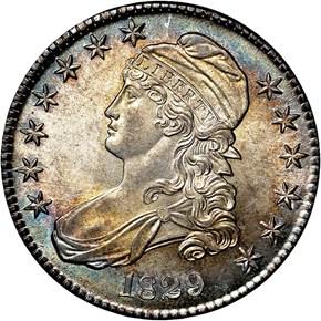 1829 50C MS obverse