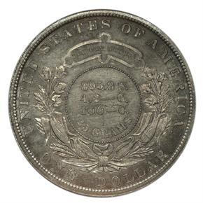 1880 J-1645 S$1 PF reverse