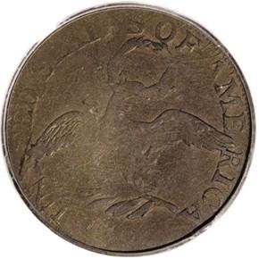 1795 J-23 $5 MS reverse