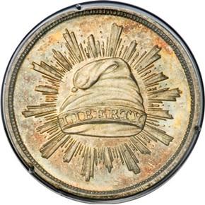 1836 J-69 G$1 PF obverse