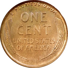 1924 D 1C MS reverse