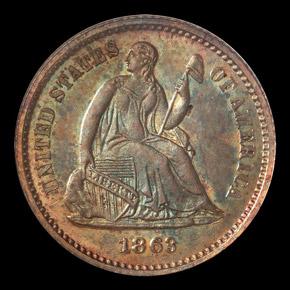 1863 H10C MS obverse