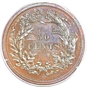 1859 J-242 50C PF reverse