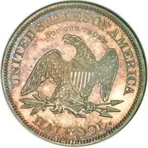 1861 J-279 50C PF reverse