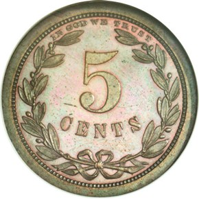 1868 J-626 5C PF reverse