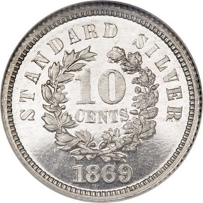 1869 J-700 10C PF reverse