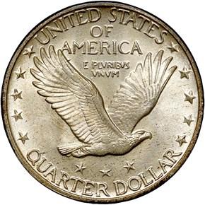 1929 25C MS reverse