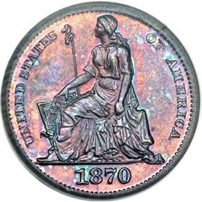 1870 J-818 H10C PF obverse