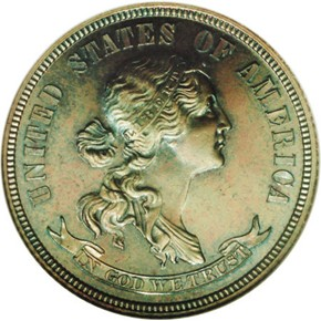 1870 J-920 25C PF obverse