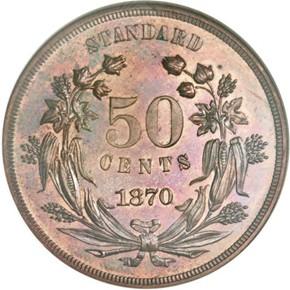 1870 J-942 50C PF reverse