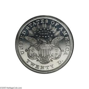 1870 J-1039 $20 PF reverse