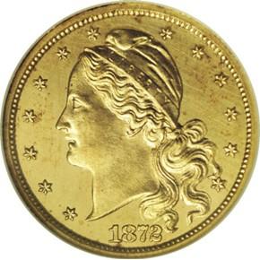 1872 J-1231 GILT $2.5 PF obverse