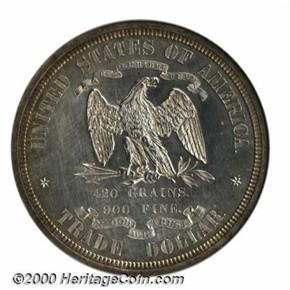1873 J-1311 T$1 PF reverse
