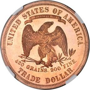 1876 J-1476 T$1 PF reverse