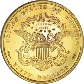 1877 J-1547 $50 PF reverse