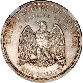 1878 J-1554a S$1 PF reverse