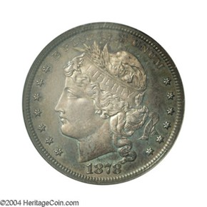 1878 J-1560 S$1 PF obverse