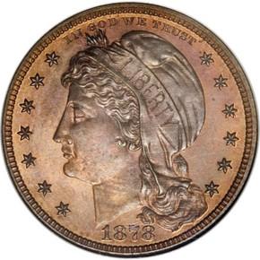 1878 J-1580 $10 PF obverse