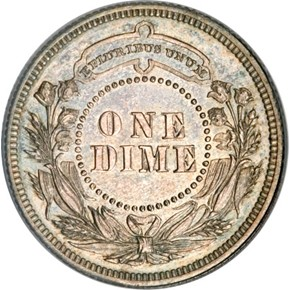 1879 J-1584 10C PF reverse