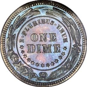 1879 J-1586 10C PF reverse