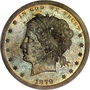 1879 J-1605 S$1 PF obverse