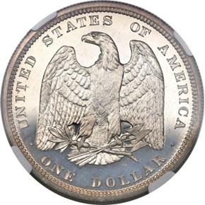 1879 J-1611 S$1 PF reverse