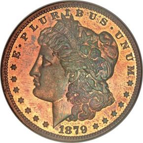 1879 J-1616 S$1 PF obverse