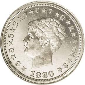 1880 J-1662 $4 PF obverse