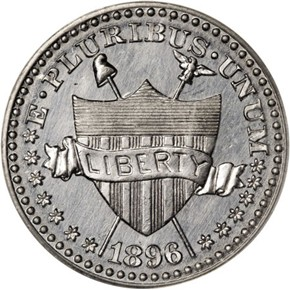 1896 J-1772 5C PF obverse