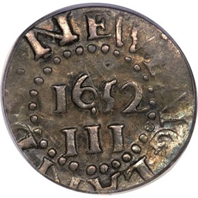 1652 NO PELS PINE TREE MASSACHUSETTS 3P MS reverse