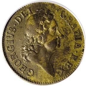 1722 'UTILE DULCI' ROSA AMERICANA 1P MS obverse