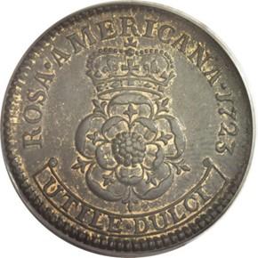 1723 ROSA AMERICANA 1P MS reverse
