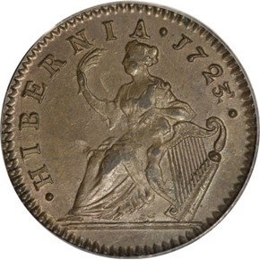 1723/2 HIBERNIA 1/2P MS reverse