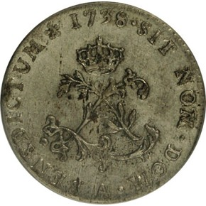 1740T FRENCH COLONIES 1SM MS obverse