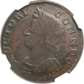 1785 BUST LEFT CONNECTICUT MS obverse