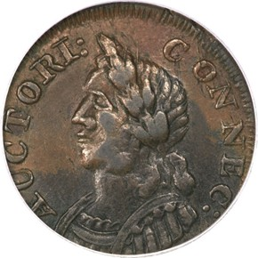 1786 'HERCULES' CONNECTICUT MS obverse
