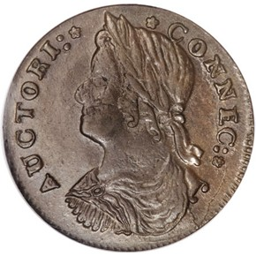 1787 'ETLIR' CONNECTICUT MS obverse