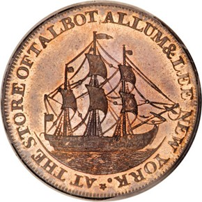 1795 LETTER EDGE TALBOT ALLUM & LEE 1C PF reverse