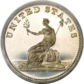 1783 GR EDGE SIL RESTRK WASHINGTON & INDEPENDENCE PF reverse