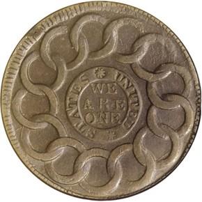1787 8-PT STAR FUGIO 'STATES UNITED' 1C MS reverse